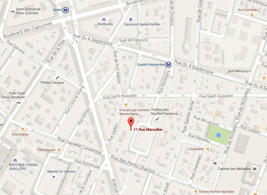 Maps_11 rue Marsollier