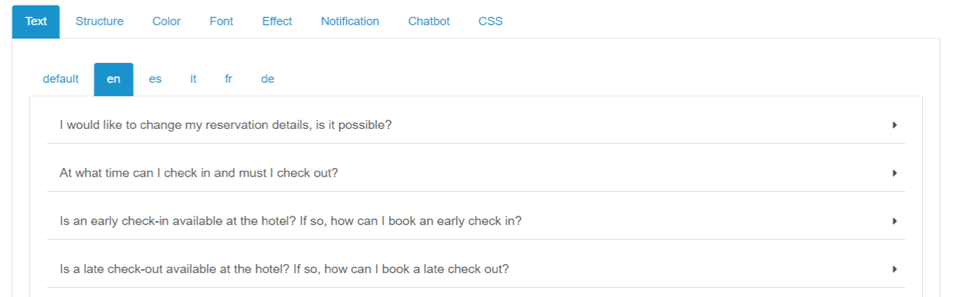 Noticia Booklyng - añadir preguntas