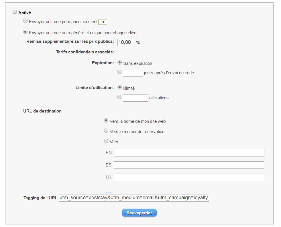 extranet codes fidelisation fr