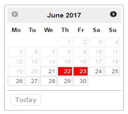 thmbnail calendar